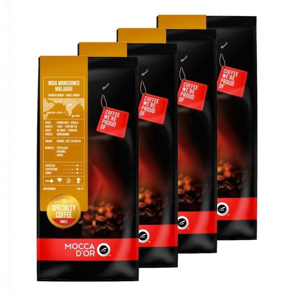 Koffiebonen Mocca d'Or India Monsooned Malabar