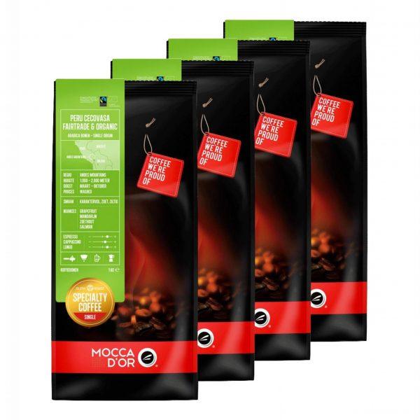 Koffiebinen Mocca d'Or Peru Cecovasa Fairtrade