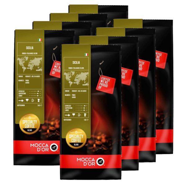 Koffiebonen Mocca d'Or Sicilia