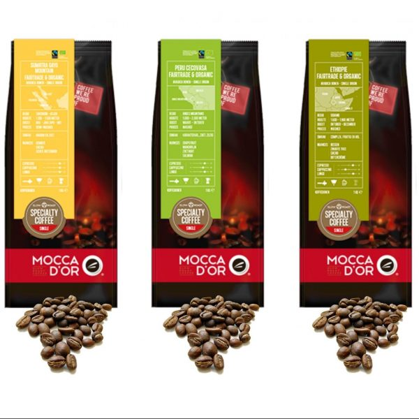 Biologisch proefpakket - Mocca d'or koffiebonen