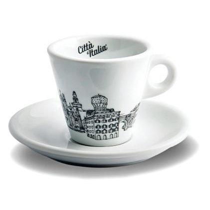 Espresso kop en schotel - limited edition - Citta d'Italia
