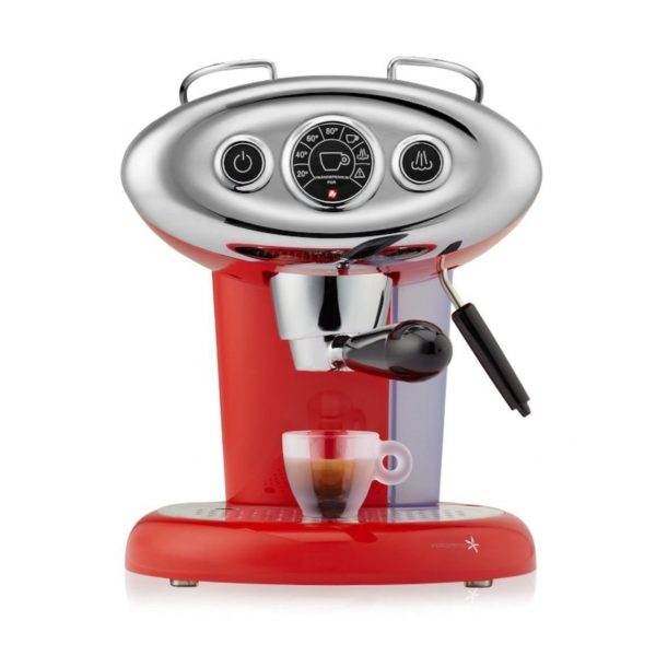 Illy X7.1 rood