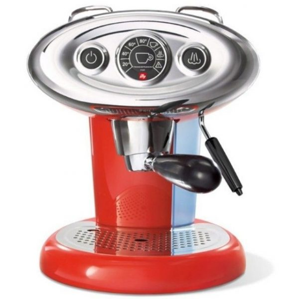 illy Francis Francis X7 MIE espressomachine rood