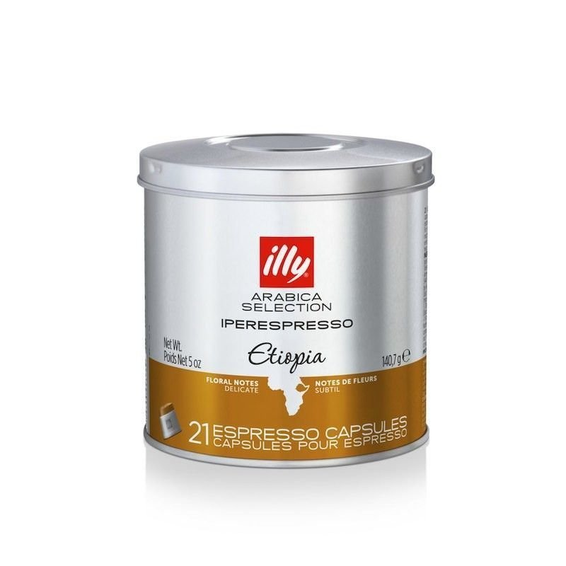 Illy MIE capsules Ethiopië