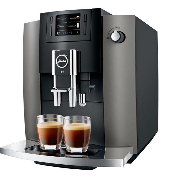 JURA E6 Dark INOX Koffie kwaliteit