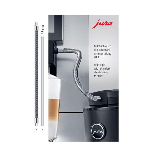 JURA melkslang met RVS ommanteling HP3