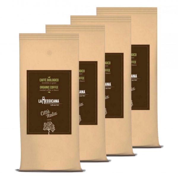 Koffiebonen Citta d'Italia Biologico 4 kg volumekorting