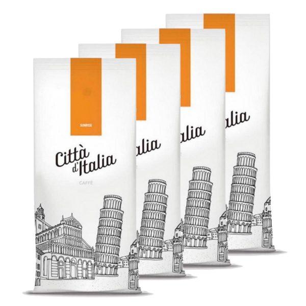 Koffiebonen Citta d'Italia Sunrise 4 kg volumekorting