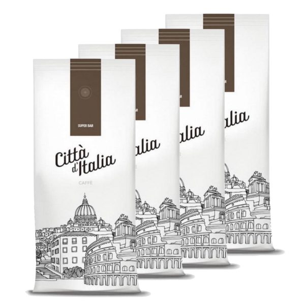 Koffiebonen Citta d'Italia Super bar