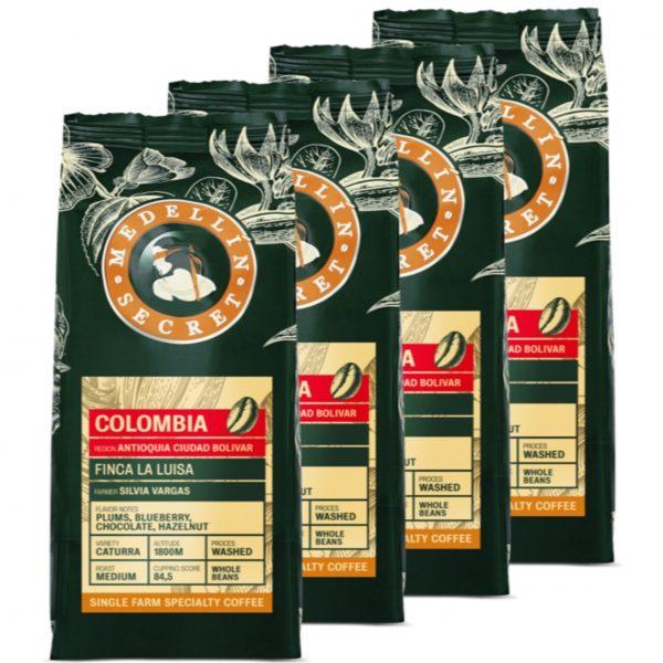 Koffiebonen Medellin Secret COlombia 4 kg volumekorting