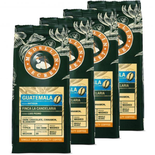 KOffiebonen Medellin Secret Guatamala 4 kg volumekorting