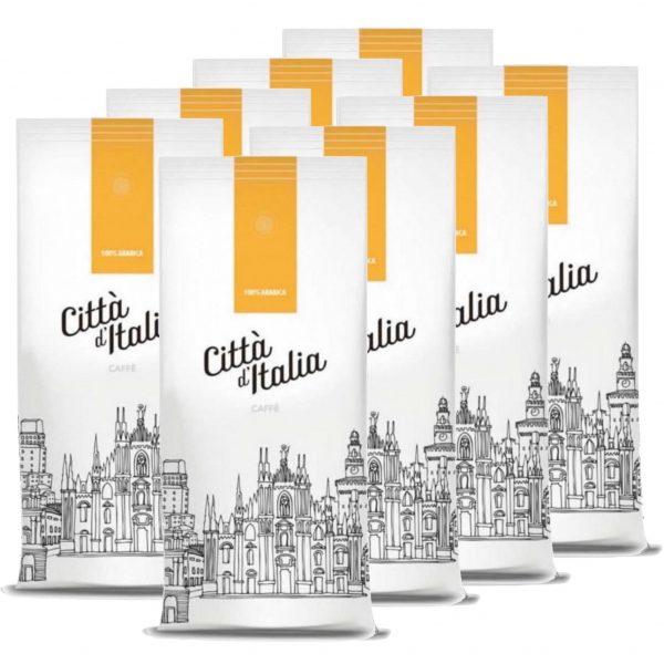Koffiebonen Citta d'Italia 100% arabica 8kg volumekorting