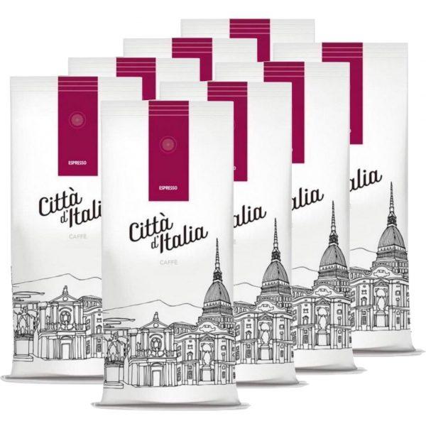 Koffiebonen Citta d'Italia Espresso 8kg volumekorting