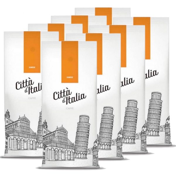 Koffiebonen Citta d'Italia Sunrise 8 kg volumekorting