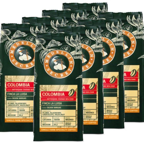 Koffiebonen Medellin Secret Colombia 8kg volumekorting