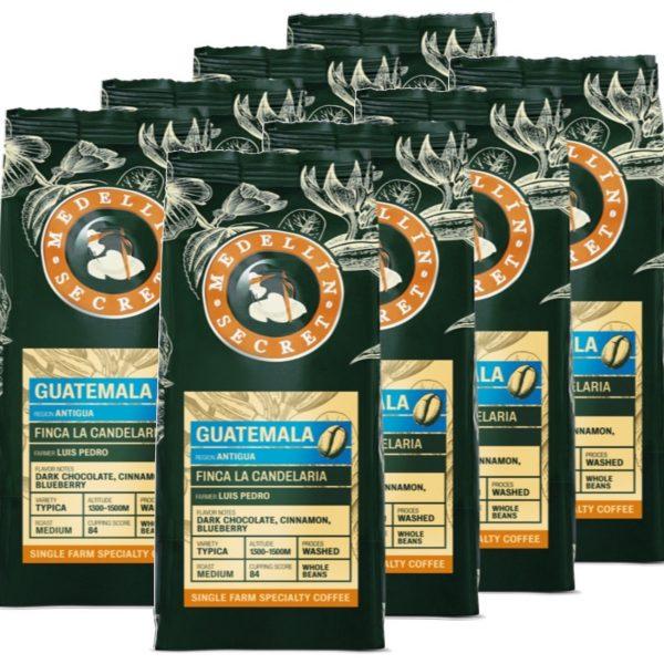 Koffiebonen Medellin Secret Guatamala 8kg volumekorting