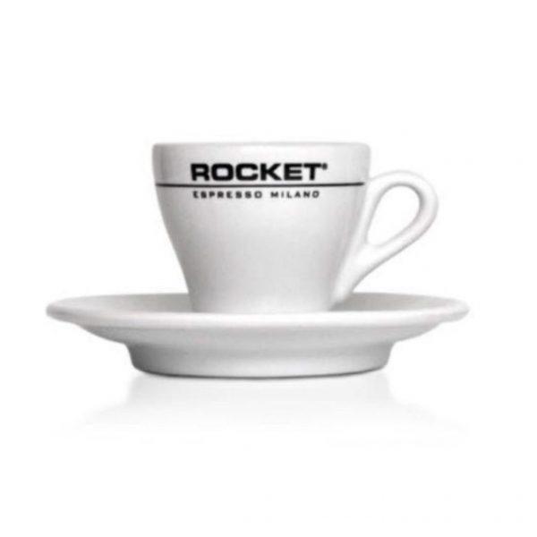 Rocket koffie kop en schotel
